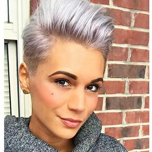 Short Silver Haircuts Choice Image - Haircuts for Men and Women