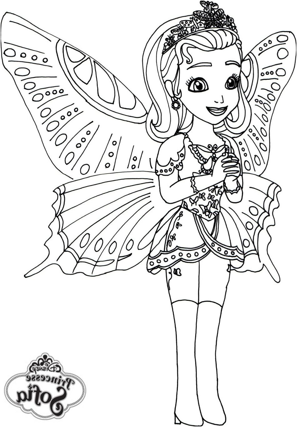 11 Magnificient Coloriage Princesse Gratuit Image Fairy Coloring