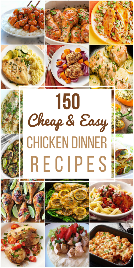 150 Cheap & Easy Chicken Recipes images