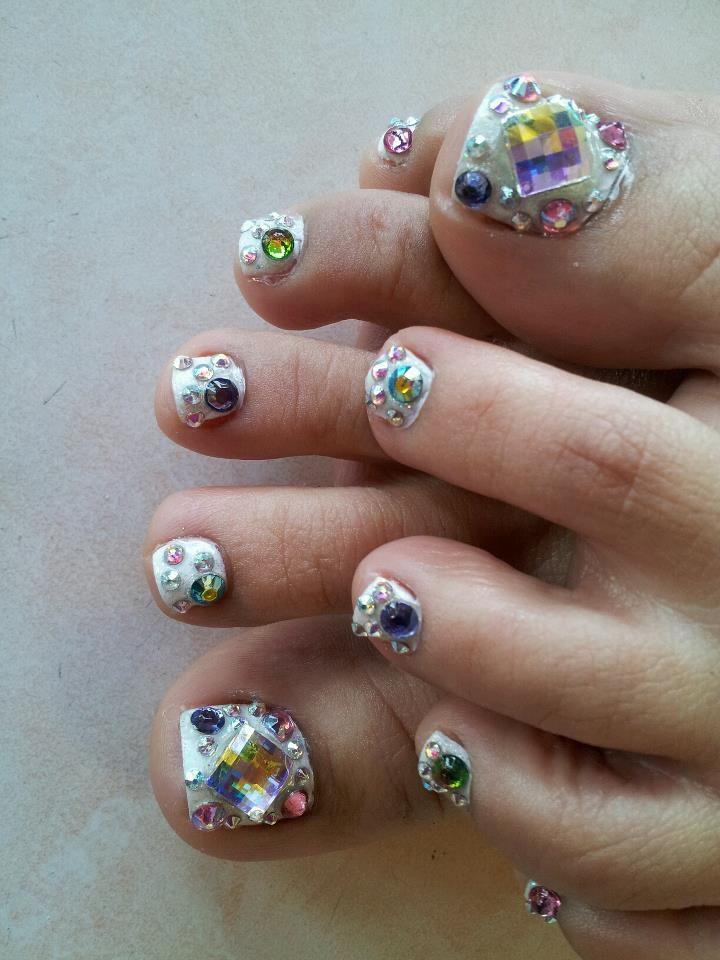 Spring toes designs - Nina Nails Pasadena, Texas | ☉HBA: This ...