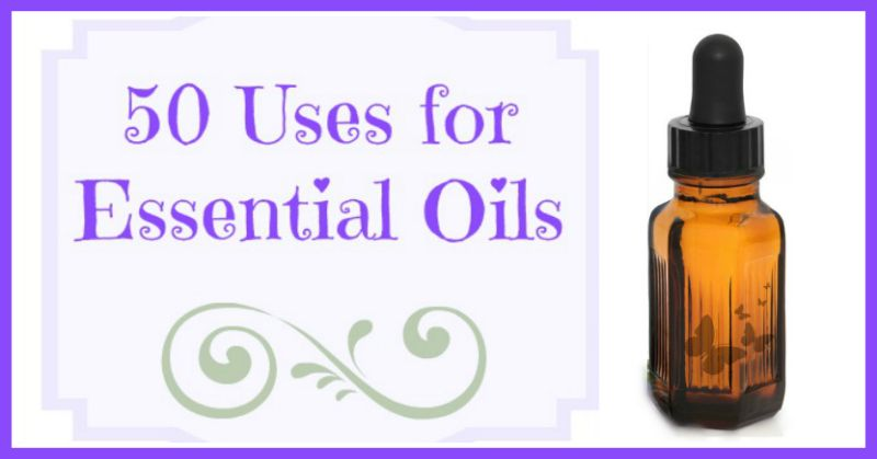 """50 Uses for Essential Oils List of """"recipes"""" that use essential oils - LOTS of ideas I want to try!"""