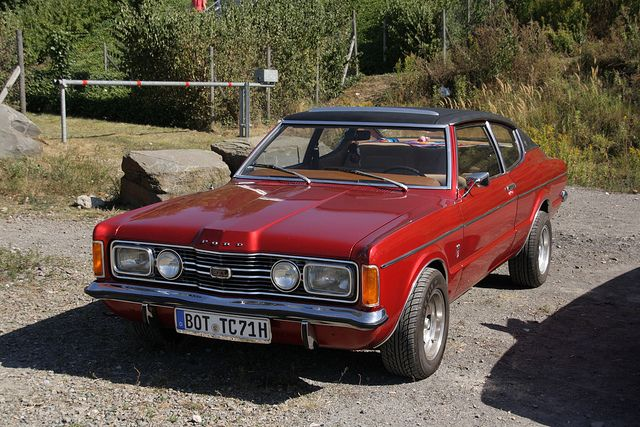 Ford taunus i gxl coup 1971 by jenskramer via flickr - Ford taunus gxl coupe 2000 v6 1971 ...
