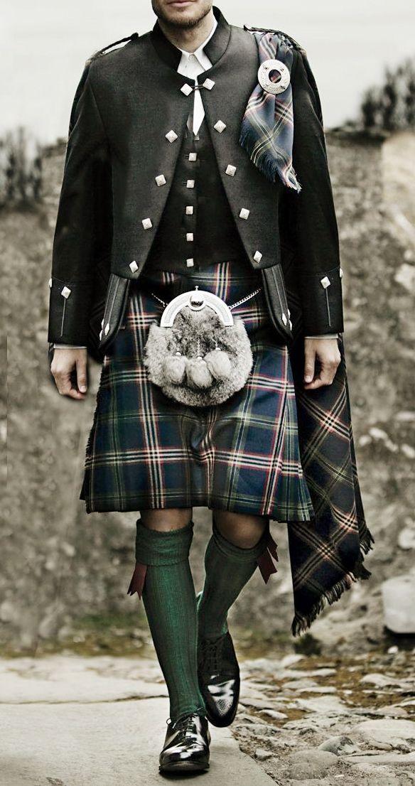 9e667d464ef4 Brook Brothers Signature Tartan Scottish Costume