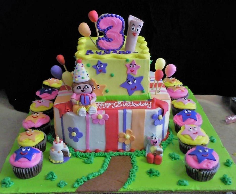 Cutest Dora The Explorer Birthday Cakes Sarah Cake Design Sarah