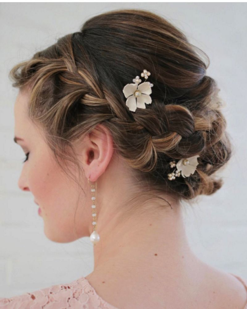 11 beautiful plait hairstyles for your wedding day plait braid plaits and updo. Black Bedroom Furniture Sets. Home Design Ideas