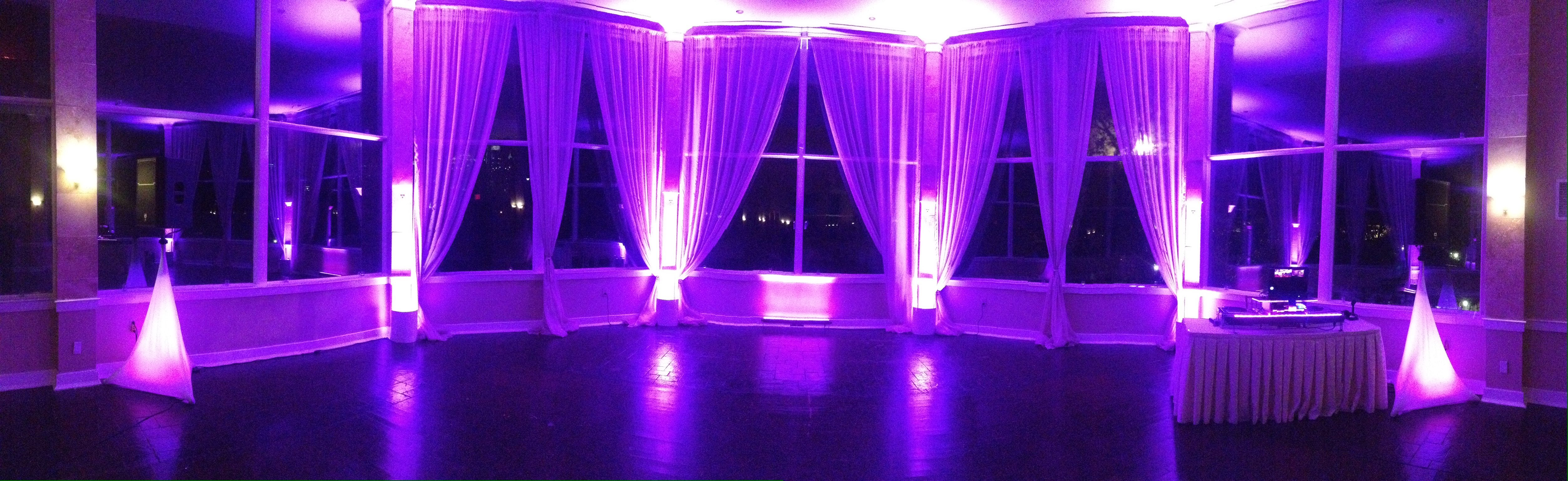 Up Lighting At The Piedmont Room Park Tavern Atlanta Ga By Fonix Color Specialists Fonixentertainment Piedmontr Event Lighting Atlanta Wedding Wedding Dj