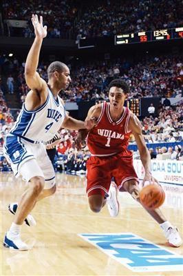 Indianas Jared Jeffries In The Upset Of 1 Duke 2002 NCAA Tournament