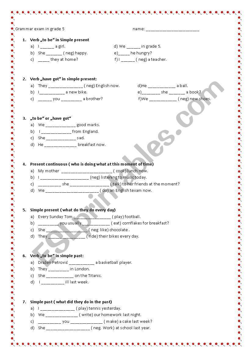 Grammar Worksheets For Grade 5 Grammar Worksheets Reading Comprehension Worksheets Grade 5 Math Worksheets [ 1169 x 826 Pixel ]