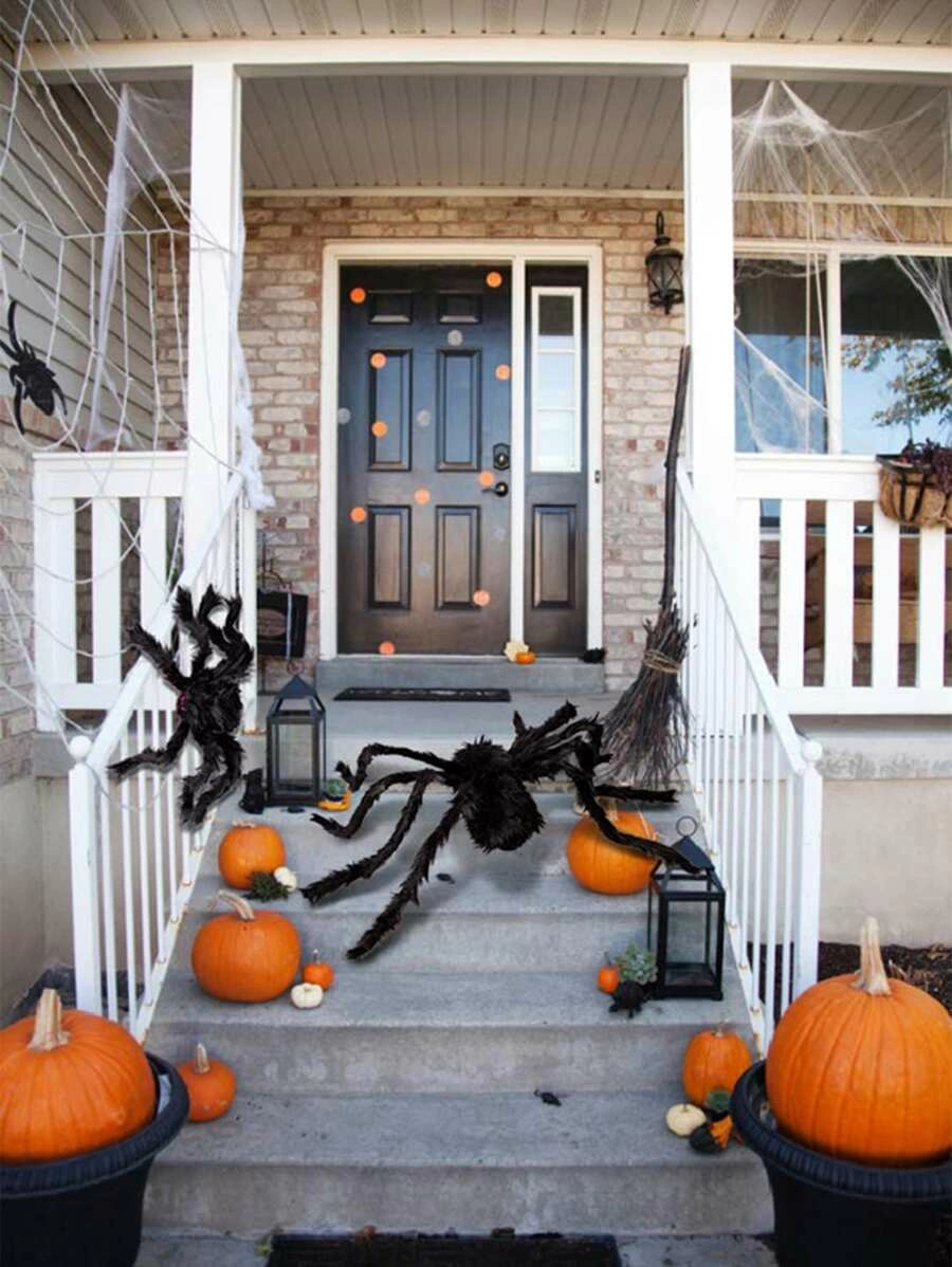 1pc Simulated Spider Halloween Decoration SHEIN USA