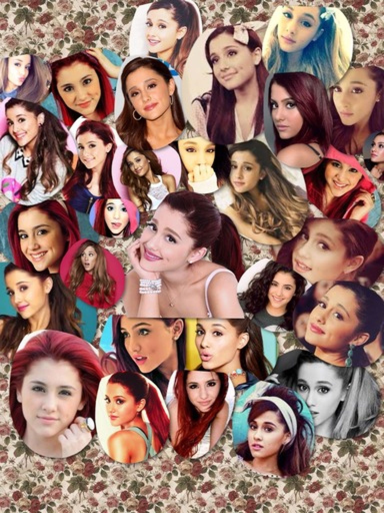 Ariana Grande collage I made | Celebrities in 2019 ...