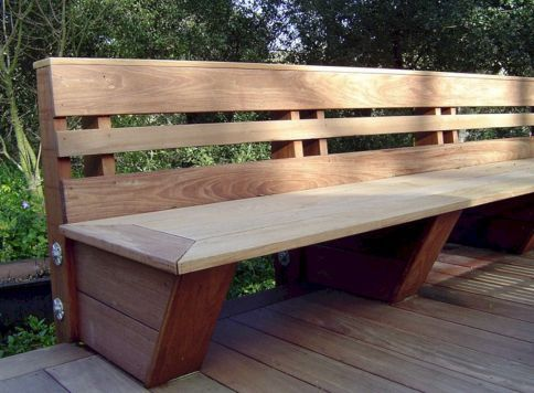 70+ Best Deck Bench Seating Design Ideas For Your Backyard   Deck ...