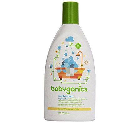 The Mama Nature Review Product Review Babyganics Bubble Bath Baby Bath Bubbles Bath Additives Homemade Bubbles