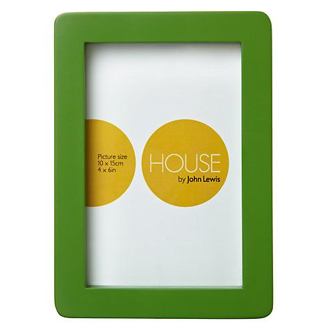 Buy House By John Lewis Photo Frame 4 X 6 10 X 15cm Online At Johnlewis Com John Lewis Photo Frames Frame Home Buying