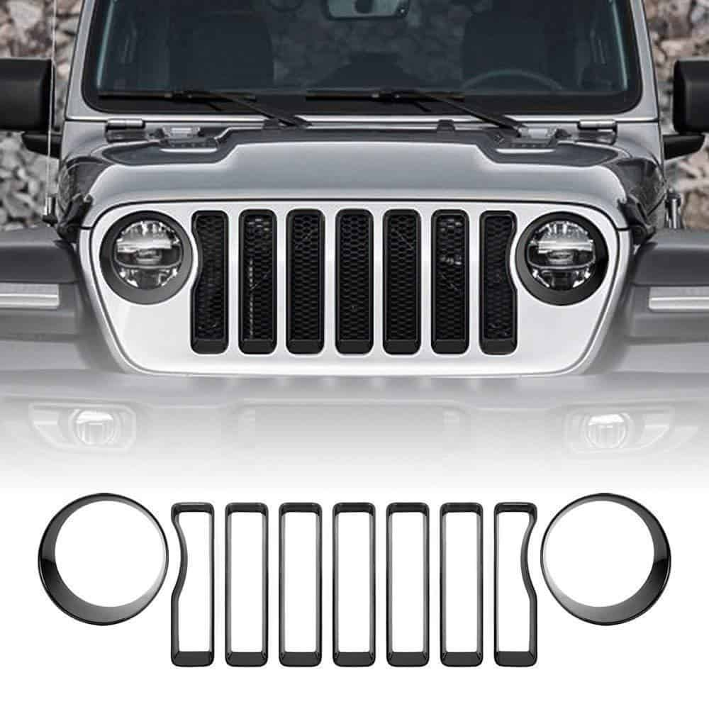 Only Fit For 2018 Jeep Wrangler JL Sport / Sports 【Exlude