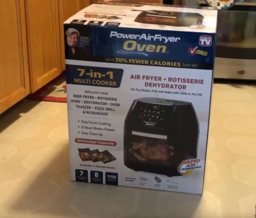 Power Air Fryer Oven All In One 6 Quart Plus As Seen On Tv