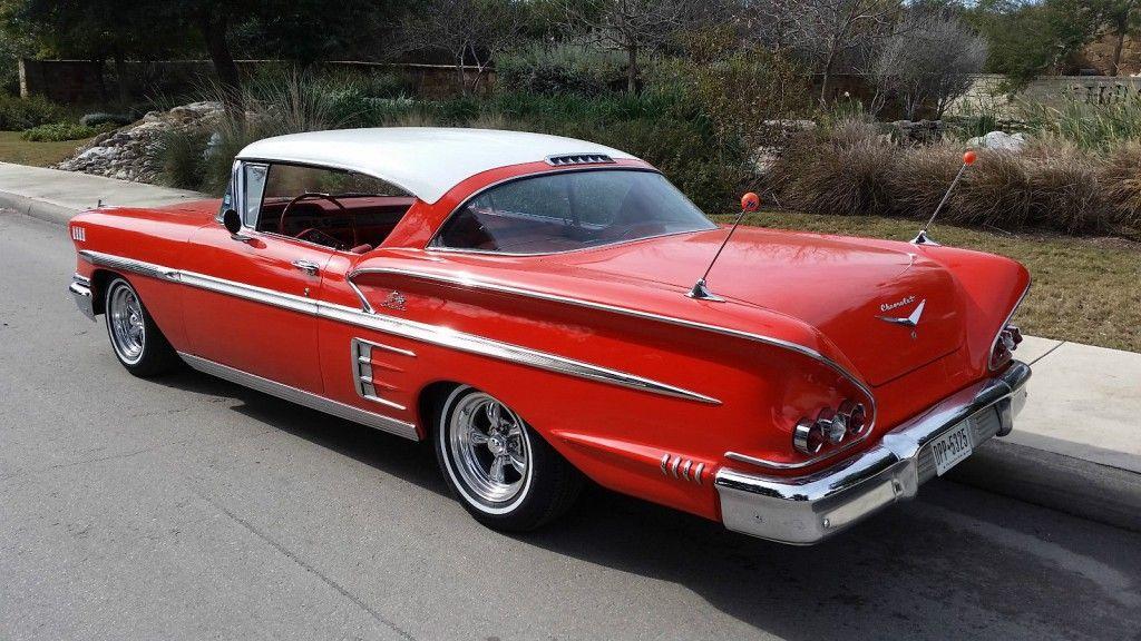 1958 Chevrolet Impala Sport Coupe Chevrolet Impala Chevrolet