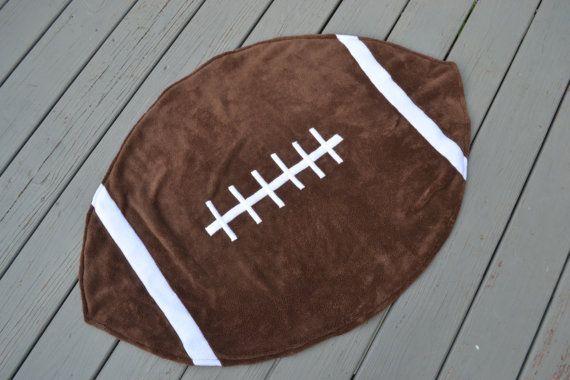 Ohio State Football Baby Blanket by littlebuckeyenut on Etsy, $25.00