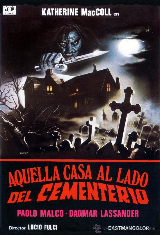 The House By The Cementery Spanish Poster Zombi Lucio Fulci