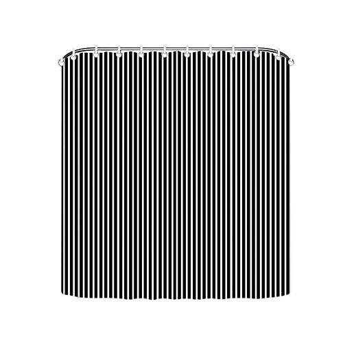 Balck And White Vertical Striped Shower Curtains Polyeste Amazon Dp B01FU29SVY Refcm Sw R Pi X NWoOxb2VSMGZK