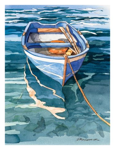 Vernazza Reflection Print by Bill Drysdale at Art Paintings of - boat bill of sale