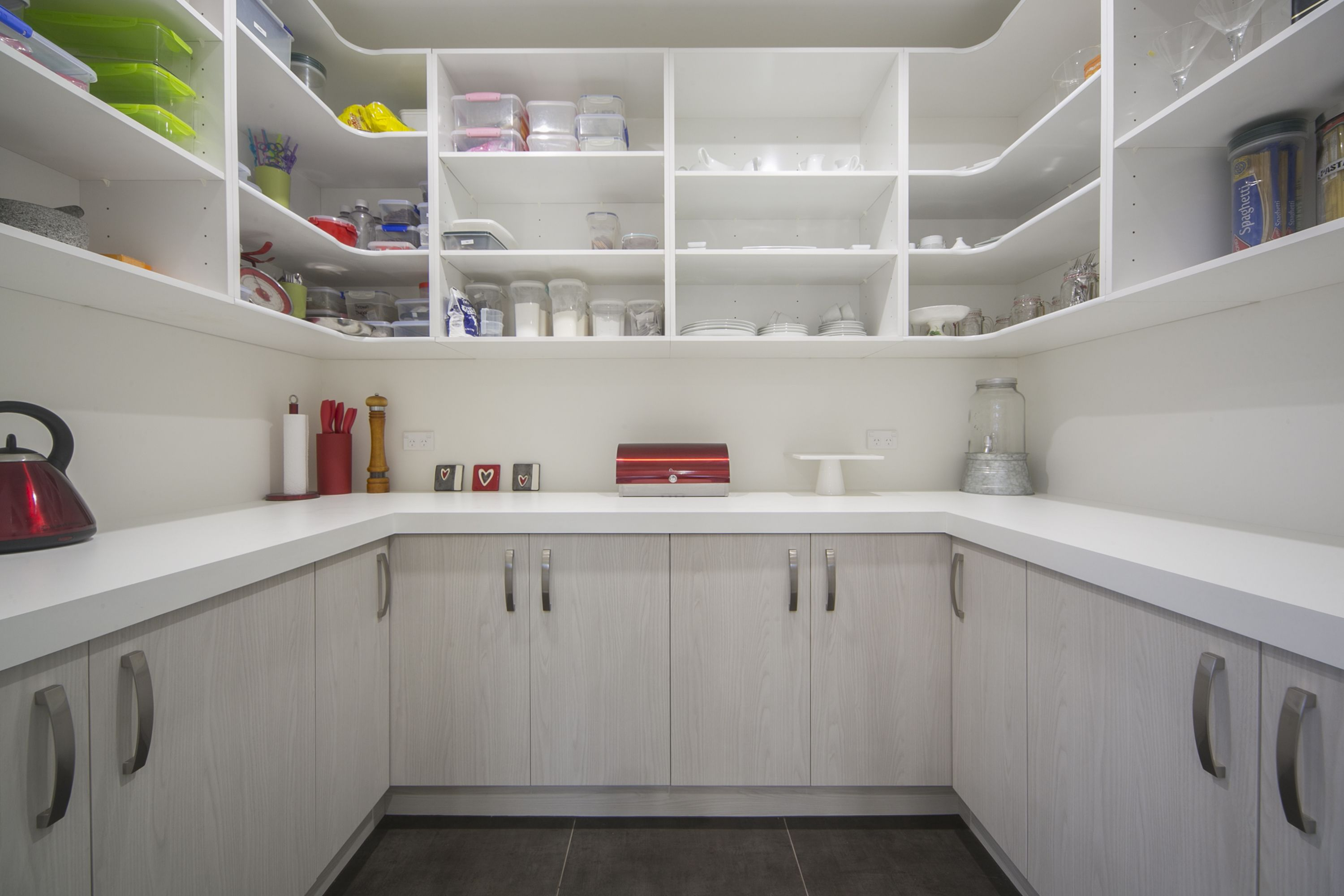 Huge Scullery Lots Of Storage And Bench Space Kitchen Pantry Design Pantry Design New Homes