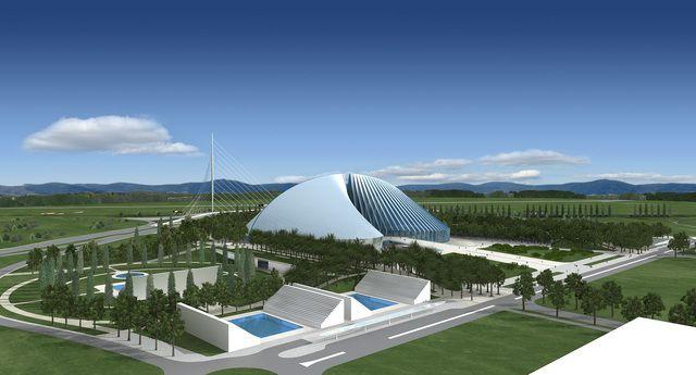 Santiago calatrava universita degli studi di roma tor for Elenco studi di architettura roma