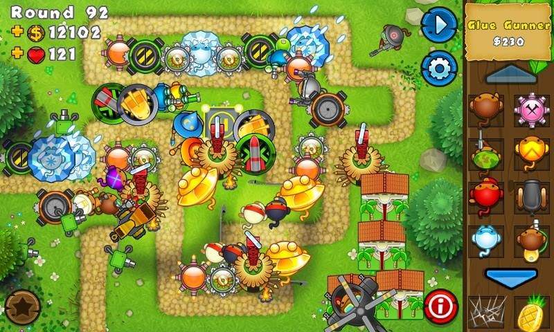 BTD5 Monkey Lane #Tips This is how I play | Bloons Tower