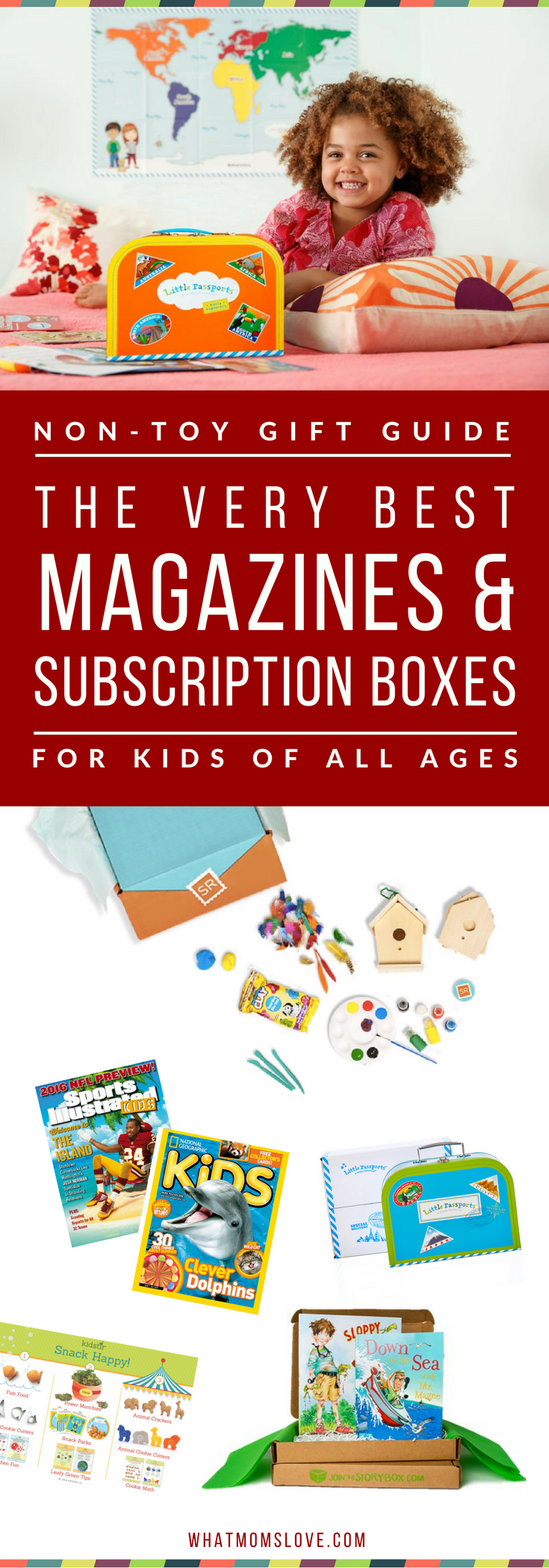 Non toy gift guide gifts to receive in your mailbox pinterest best magazine subscriptions and subscription boxes for kids part of the massive non toy gift guide with over 200 ideas and product recommendations give fandeluxe Image collections