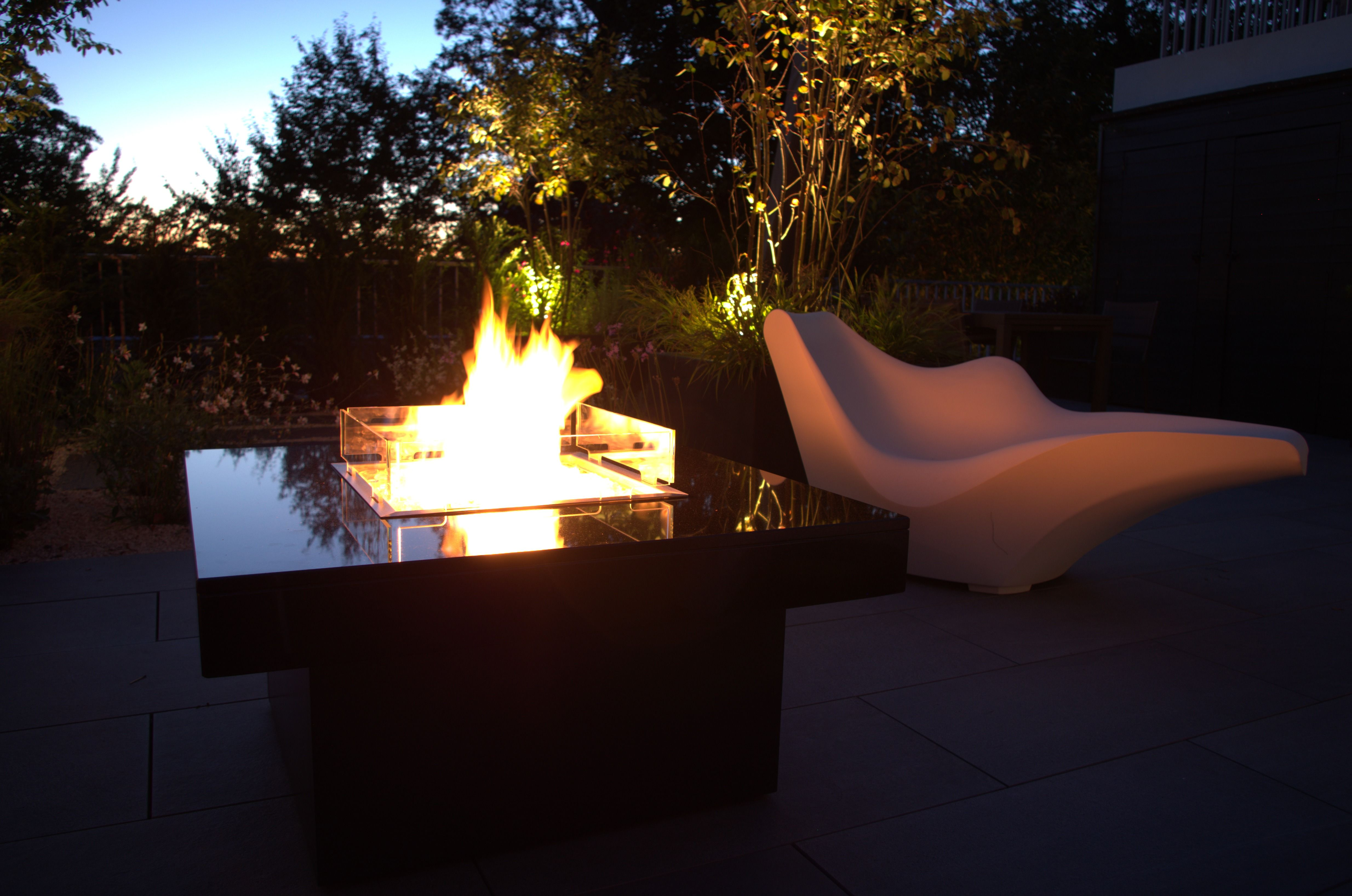 Manhattan Gas Fire Table With Images Gas Fire Table Fire