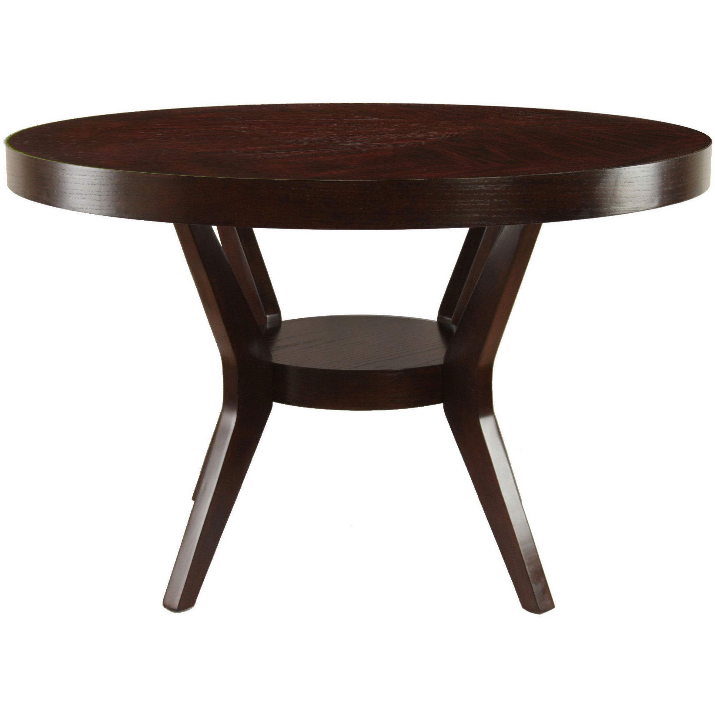 this gorgeous espresso dining room table is the perfect addition
