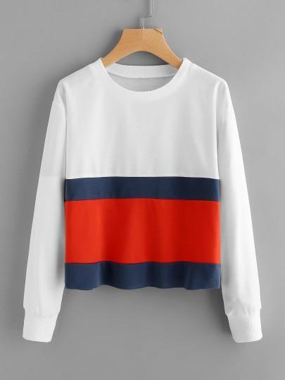 6ca1e40773a05 Retro inspired pullover sweater top in 2019