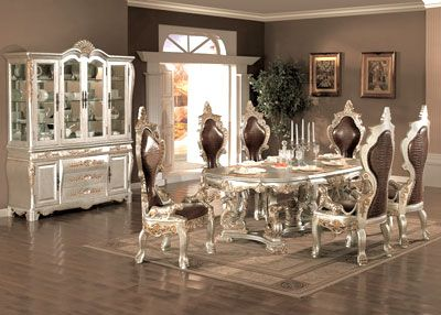 Cleopatra Dining Set Formal Dining Room Sets Contemporary
