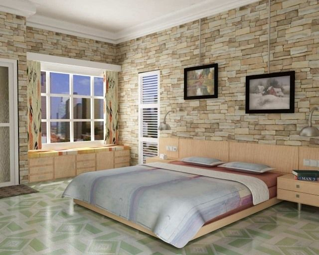 Papier Peint Trompe L œil 33 Idees Pour Embellir Maison Design