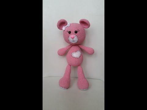 Amigurumi Bebek Gövdesi : Ayı bombon yapımı ayak amigurumi Örgü oyuncak amigurumi