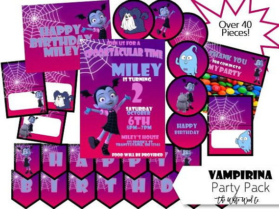 36 Party Favors Combo-Toys Birthday Prizes Pinata Pack Bags Vampire Vampirina