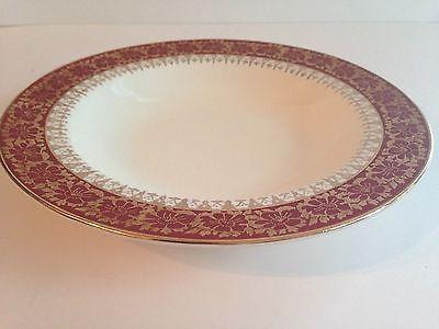 Beautiful Vintage Atlas China Made in USA Warranted 22 Karat Gold Soup Bowl & Beautiful Vintage Atlas China Made in USA Warranted 22 Karat Gold ...