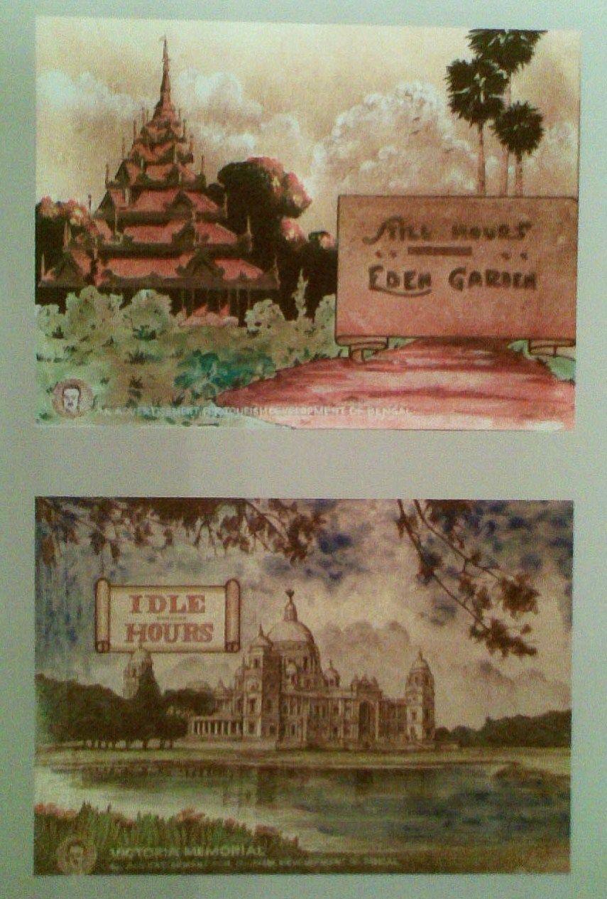 Burmese Pagoda at Eden gardens and Victoria Memorial advertised as ...