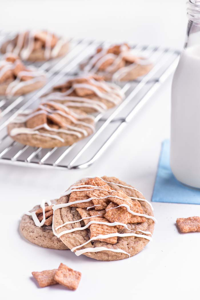 Cinnamon Toast Crunch Cookies   Sprinkles For Breakfast