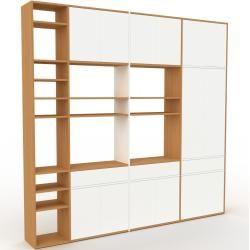 Highboard Weiß – Highboard: Schubladen in Weiß & Türen in Weiß – Hochwertige Materialien – 265 x 253