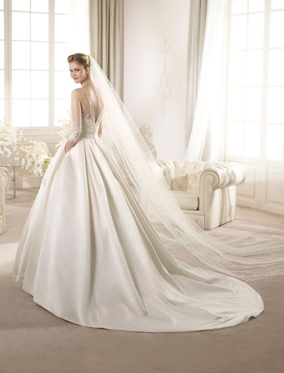 andujar | wedding dresses | costura 2013 collection | san patrick
