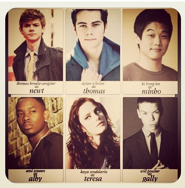 More maze runner cast photos | The Maze Runner. | Pinterest