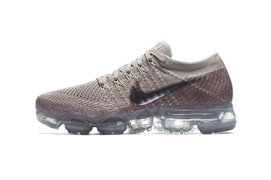 "Check out the Metallic Swoosh on the Nike Air VaporMax ""String"""