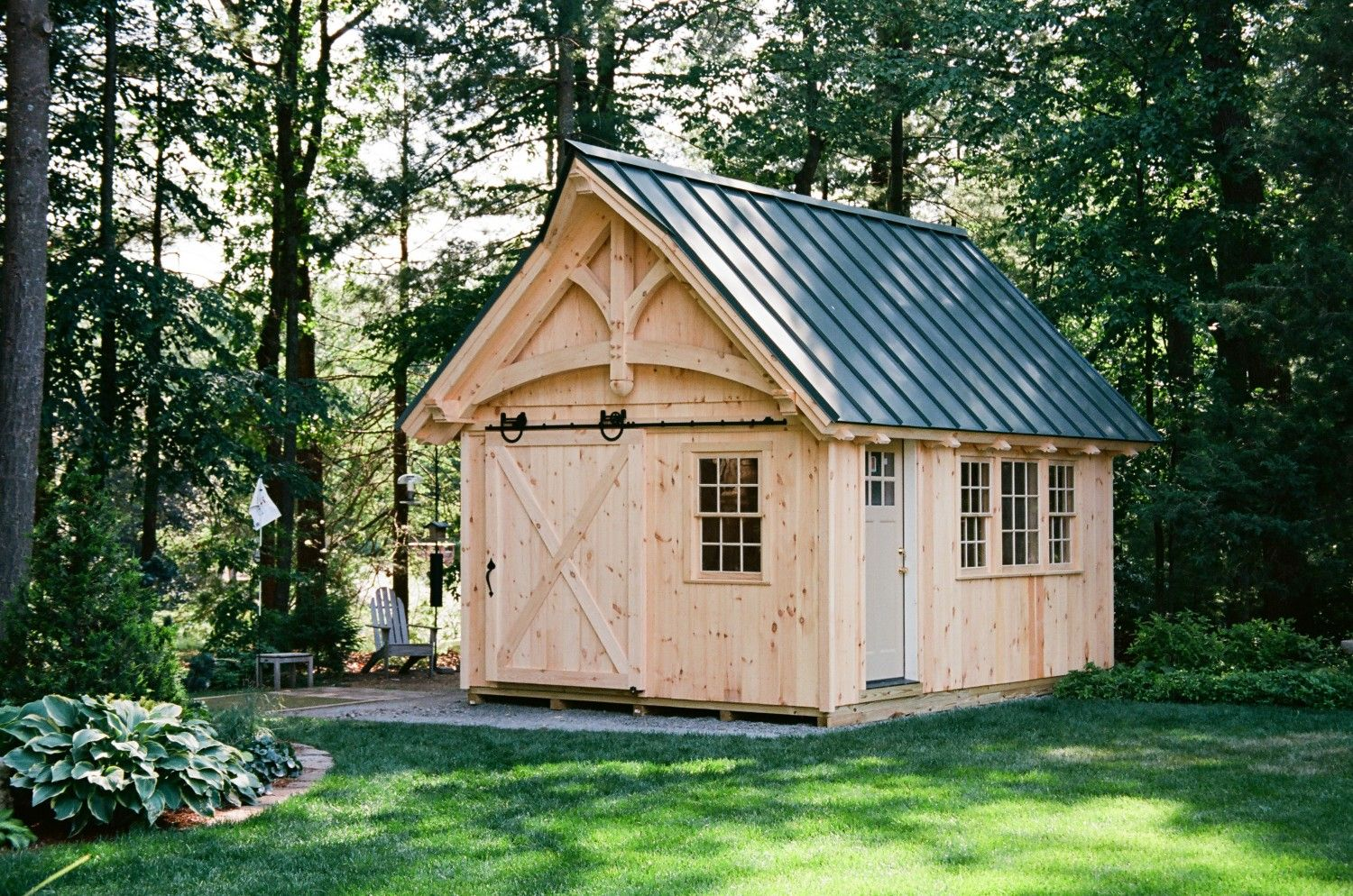 Grand Victorian Timber Frame Shed: The Barn Yard & Great