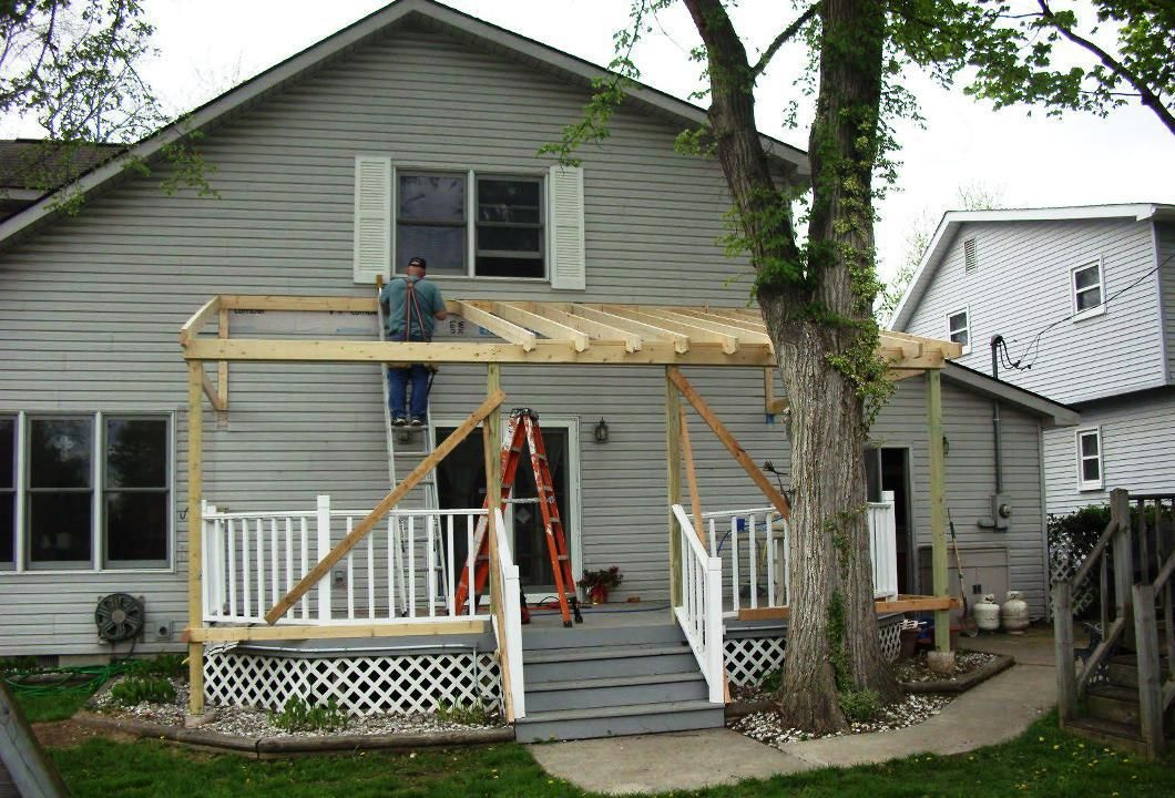 Covered Patio Ideas for the Best Investment Metal shed