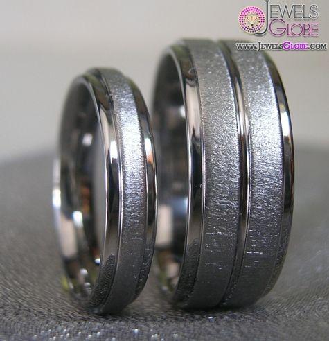 Unique Titanium Wedding Ring Sets Women