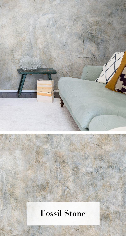 Fossil Stone Wanddekowohnzimmer Stone Wallpaper Wall Wallpaper Fossil