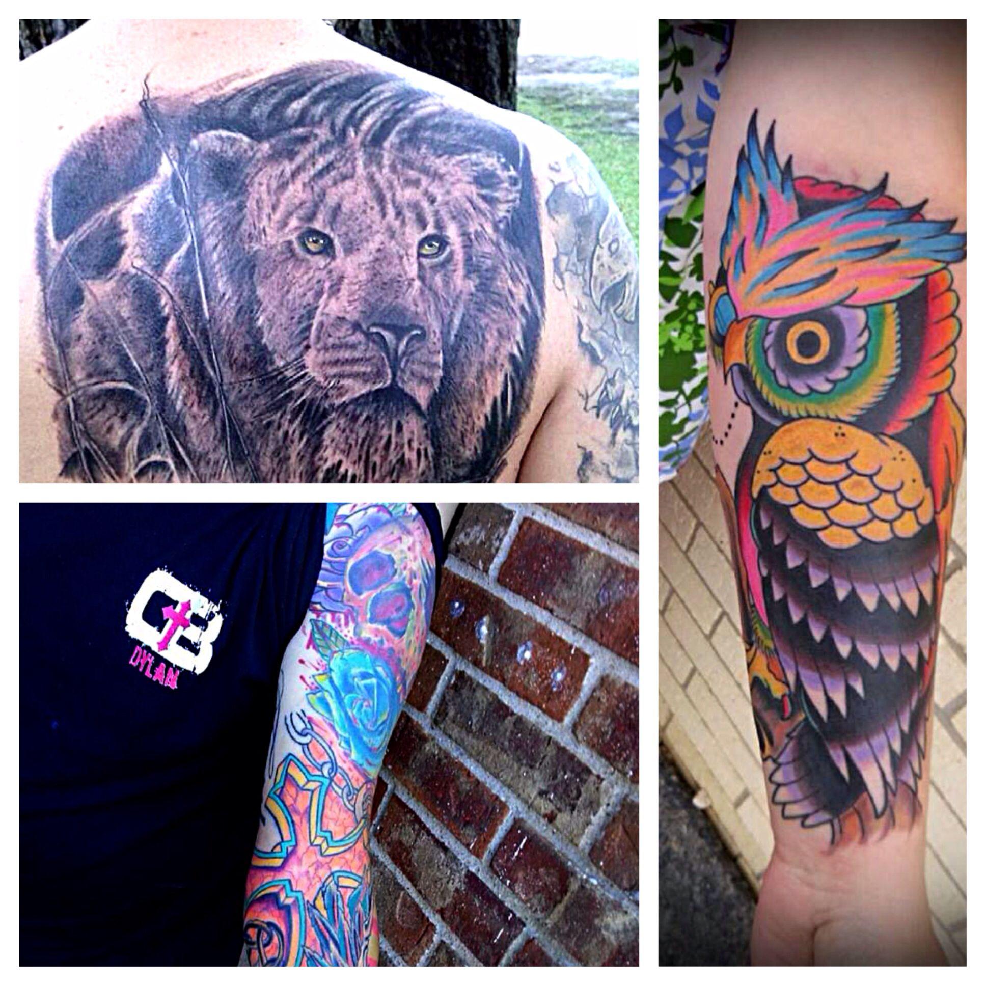 Blake thomas epic 13 houston texas animal tattoo