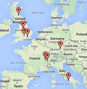 Map of locations in frankenstein interactive map here httpwww map of locations in frankenstein interactive map here http publicscrutiny Gallery