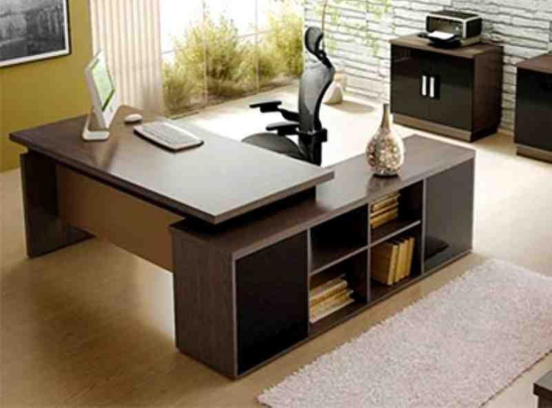 Modern Office Table & Modern Office Table | Projects to Try | Pinterest | Modern office ...