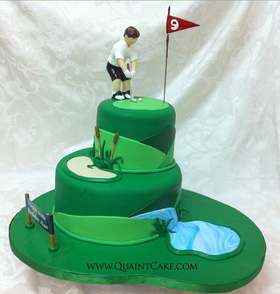How To Make A Golf Cake Video